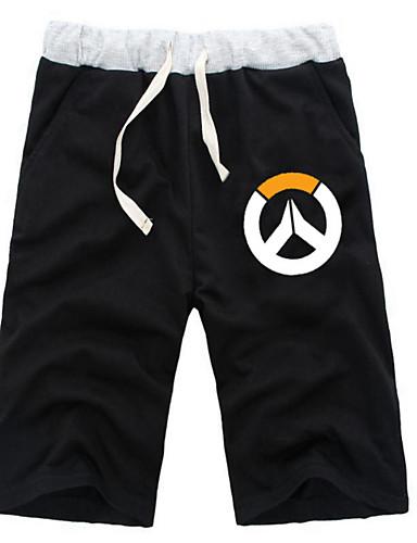 povoljno Anime kostimi-Inspirirana Overwatch Zmaj Anime Cosplay nošnje Japanski Cosplay Tops / Bottoms Jednobojni / Anime ½ Pant Kratke hlače Za Sve