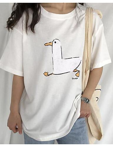 tricou pentru femei - gât rotund pentru animale