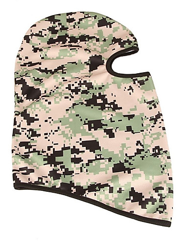 cheap Cycling Clothing-Balaclava Pollution Protection Mask Sunscreen Trainer Warm Breathability Bike / Cycling Army Green Grey Camouflage Spandex for Men's Women's Adults' Camping / Hiking Outdoor Exercise Cycling / Bike
