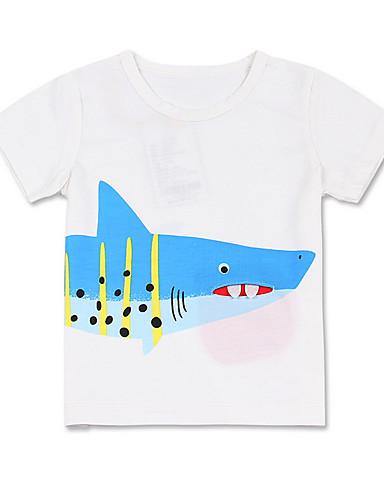 Dzieci Dla chłopców Nadruk Bez rękawów T-shirt