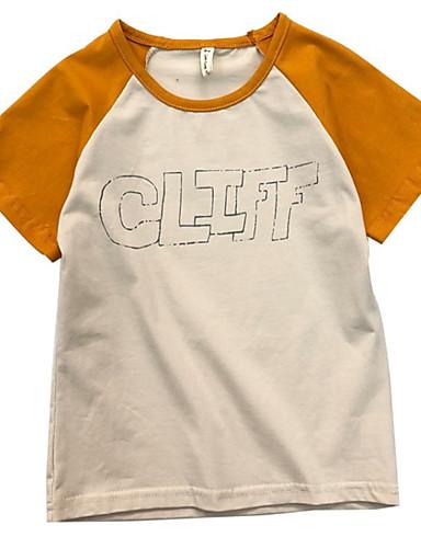 Dzieci Dla dziewczynek Wielokolorowa Krótki rękaw T-shirt