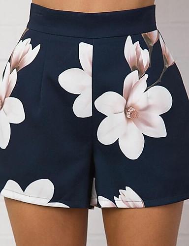 Pentru femei Larg Bootcut Pantaloni Floral