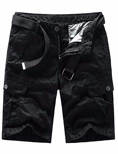 Bărbați Militar Pantaloni Scurți Pantaloni Mată