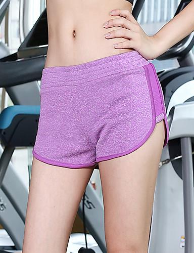 Pentru femei De Bază Pantaloni Sport Pantaloni Mată Negru și gri