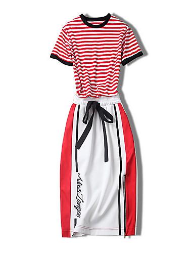Pentru femei Polo - Dungi, Fustă