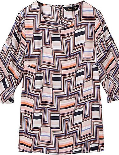 Pentru femei Bluză Ieșire Geometric