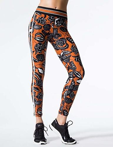 Pentru femei Zilnic Sport / De Bază Legging - Geometric Talie medie