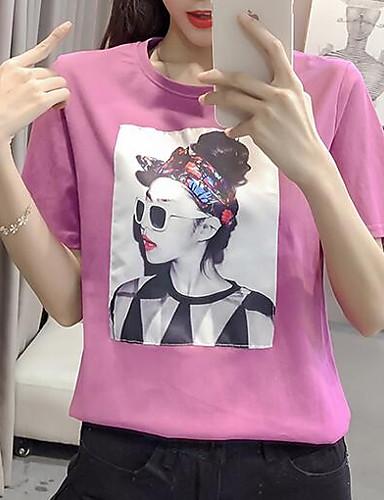 Pentru femei Tricou Ieșire Portret