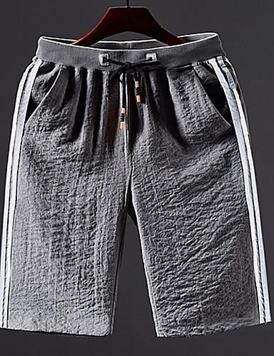 Muškarci Osnovni Kratke hlače Hlače Prugasti uzorak