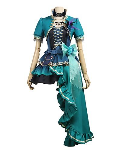 povoljno Anime kostimi-Inspirirana BanG Dream Cosplay Anime Cosplay nošnje Japanski Cosplay Suits Other Kratkih rukava Kaput / Suknja / Haljina Za Uniseks