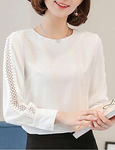 2019 Moda Blusa Per Donna Essenziale Tinta Unita Rosa L - Taglia Piccola #06830248 2019 Ultima Vendita Online Stile 50%