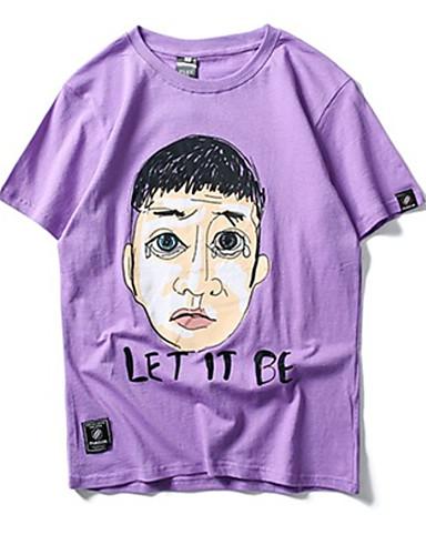 Majica s rukavima Muškarci Dnevno Portret Print