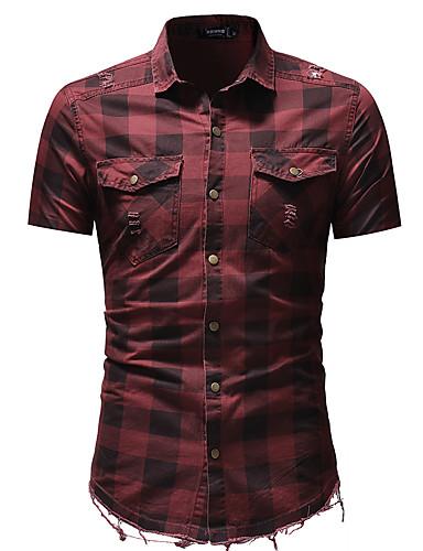 Majica Muškarci - Osnovni Dnevno Jednobojni