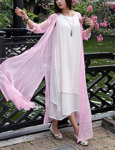 Kaput Žene - Vintage Jednobojni, V izrez