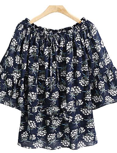 Bluza Žene Dnevno Cvjetni print / Geometrijski oblici
