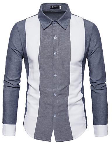Majica Muškarci - Osnovni Dnevno Color block
