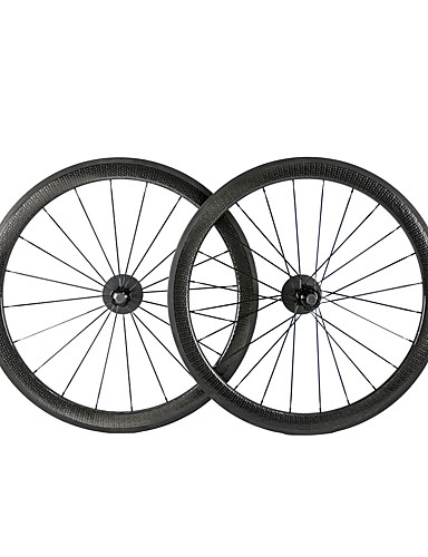 cheap Tires, Tubes & Wheelsets-NEASTY 700CC Wheelsets Cycling 25 mm Road Bike Carbon Clincher 20-24 Spokes 50 mm
