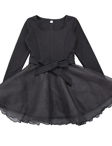 b5f30b5a4 فستان كم طويل بقع بقع مناسب للخارج كاجوال للفتيات أطفال