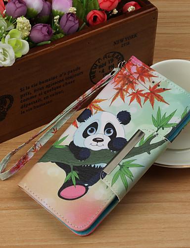Θήκη Za Huawei Huawei Mate 20 lite / Huawei Mate 20 pro / Huawei Mate 20 Novčanik / Utor za kartice / sa stalkom Korice Panda Tvrdo PU koža