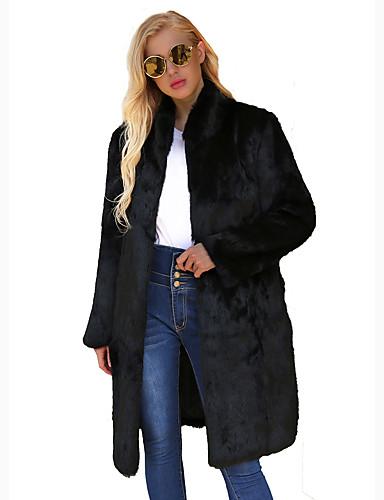Sofisticado Maxi De Trabajo Invierno Otoño Noche Abrigo Mujer HX4qEw