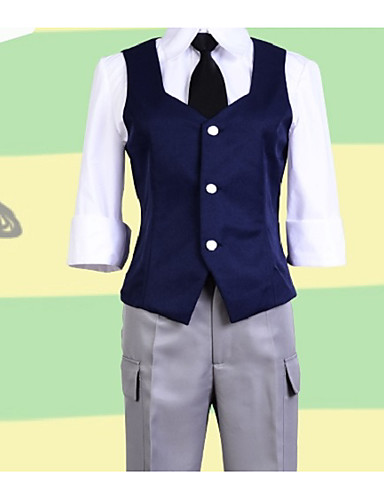 abordables Disfraces de Anime-Inspirado por Aula de asesinato Cosplay Animé Disfraces de cosplay Trajes Cosplay Simple Chalecos / Blusa / Pantalones Para Mujer