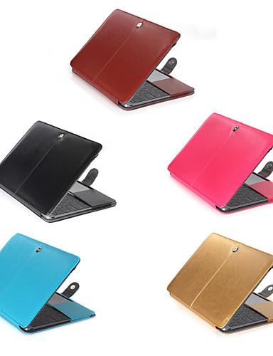 MacBook Slučaj Jednobojni PU koža za New MacBook Pro 15