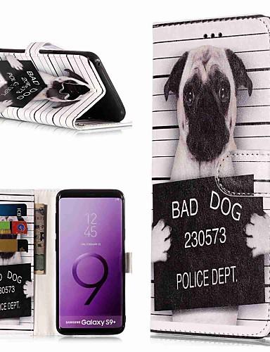 Θήκη Za Samsung Galaxy S9 / S9 Plus / S8 Plus Novčanik / Utor za kartice / sa stalkom Korice Pas Tvrdo PU koža