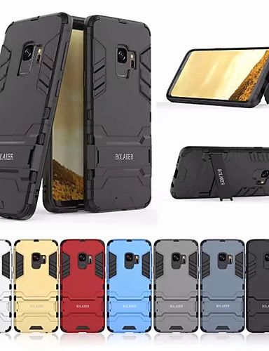 Θήκη Za Samsung Galaxy S9 Otporno na trešnju / sa stalkom Stražnja maska Jednobojni Tvrdo PC
