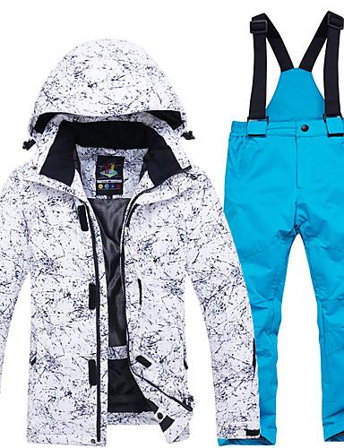 povoljno Skijaška i snowboard odjeća-ARCTIC QUEEN Dječaci Djevojčice Skijaška jakna i hlače Vjetronepropusnost Toplo Prozračnosti Skijanje Camping & planinarenje Snowboarding POLY Neljepljivo Polyester Trenirka Snježni prsluk Majice