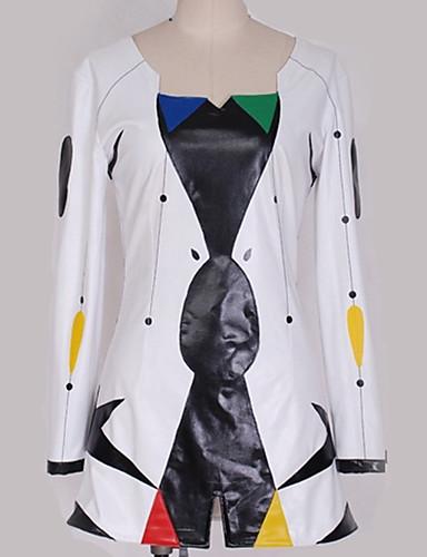 """billige Anime Kostymer-Inspirert av Vokaloid Cosplay Anime  """"Cosplay-kostymer"""" Cosplay Klær Mønster / Spesielt design Topp / Mer Tilbehør / Shorts Til Herre / Dame"""