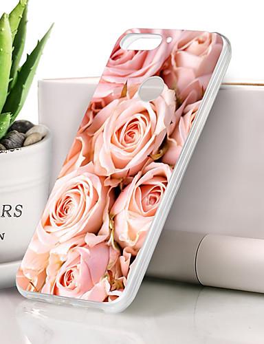 Θήκη Za Huawei Honor 7X Ultra tanko / Uzorak Stražnja maska Cvijet Mekano TPU