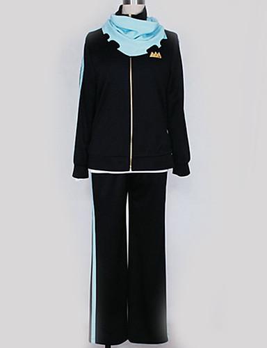 levne Anime kostýmy-Inspirovaný Noragami cosplay Anime Cosplay kostýmy japonština Cosplay šaty Jednobarevné Vrchní deska / Kalhoty / Více doplňků Pro Pánské / Dámské