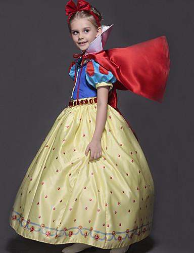 4cf46e408 أميرة فساتين أزياء Cosplay أطفال للفتيات كرتون كريسماس عيد الميلاد  Halloween عيد الأطفال عطلة / عيد القطيفة أزرق كرنفال ازياء أميرة