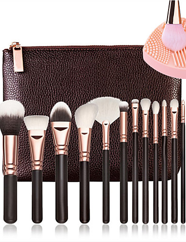 cheap Makeup Brush Sets-15pcs Makeup Brushes Professional Makeup Brush Full Coverage Wooden / Bamboo