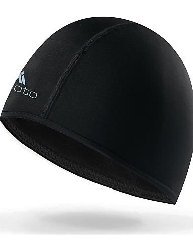 Miloto Skull Caps Gorros Negro Invierno Resistente al Viento Forro Polar  Resistente a la lluvia Ejercicio al Aire Libre Ciclismo   Bicicleta  Bicicleta ... 899b817ee8d7