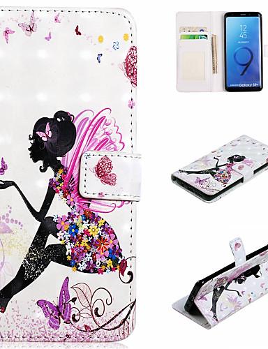 Θήκη Za Samsung Galaxy S9 / S9 Plus / S8 Plus Novčanik / Utor za kartice / sa stalkom Korice Seksi dama Tvrdo PU koža