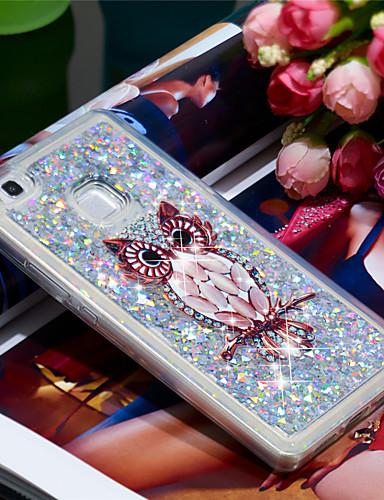 Θήκη Za Huawei Huawei P9 Lite Otporno na trešnju / Šljokice Stražnja maska Sova / Šljokice Mekano TPU