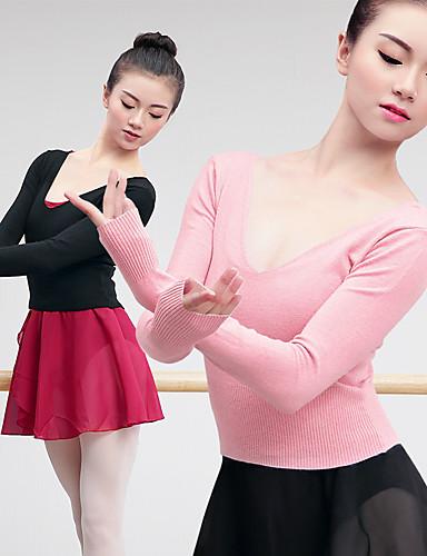 preiswerte Ballettbekleidung-Ballett Oberteile Damen Training / Leistung Elastan / Lycra Elastisch Langarm Top