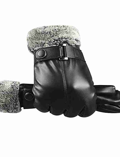 cheap Men's Gloves-Men's Work / Basic Fingertips Gloves - Solid Colored