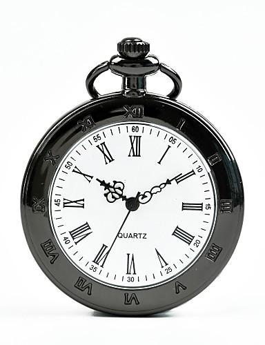 Pánské Dámské Kapesní hodinky Křemenný Černá Hodinky na běžné nošení Cool  Analogové Na běžné nošení Módní 628ea3b179