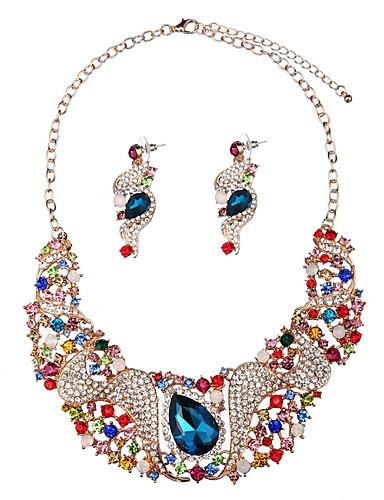 abordables Joyas de Moda-Mujer Legierung Collares - Europeo / Moda / De Gran Tamaño