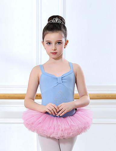 16833036f50 Ballet Layered Costume Girls  Kid s Tutu Bubble Skirt Pink   Blue+Red    Blue   White Vintage Cosplay Spandex Christmas Party Halloween Sleeveless  Sleeveless ...