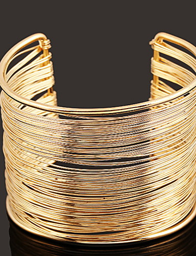 abordables Bijoux à la Mode-Femme Alliage Mode bracelet