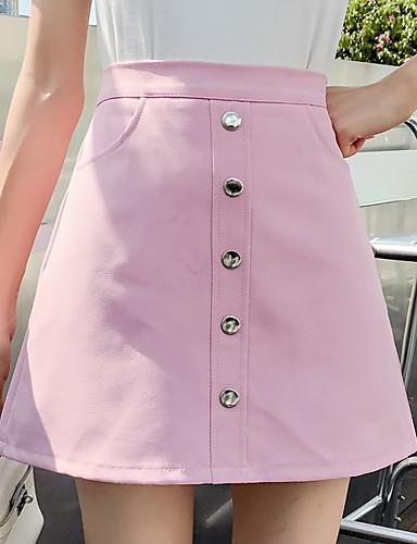38fd12c7709 Women s Cotton Bodycon Skirts - Solid Colored   Slim