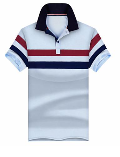 2bea201aecfe Ανδρικά Polo Συνδυασμός Χρωμάτων Λεπτό Λευκό XL