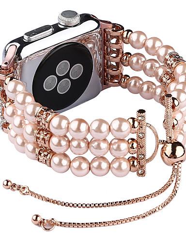Watch Band varten Apple Watch Series 4/3/2/1 Apple Korudesign Plastic Rannehihna
