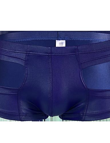 voordelige Herenondergoed & Zwemkleding-Standaard, Effen Boxer Heren Medium Taille