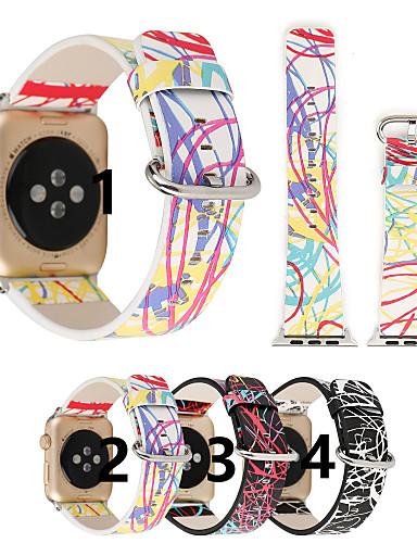 Watch Band varten Apple Watch Series 4/3/2/1 Apple Perinteinen solki Aito nahka Rannehihna