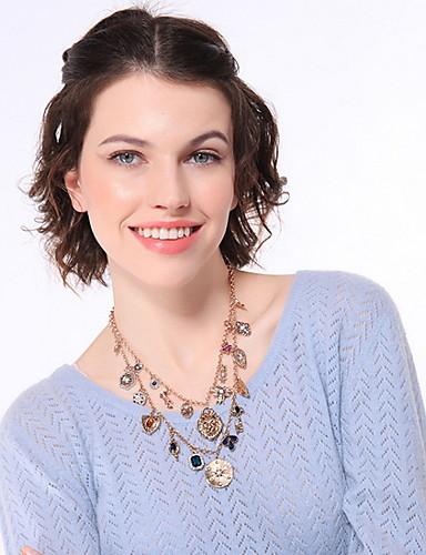 abordables Joyas de Moda-Mujer Collares - Básico Un Color