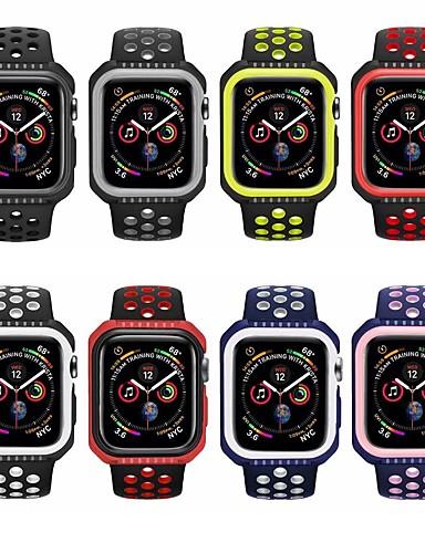 Watch Band varten Apple Watch Series 4 Apple Urheiluhihna Silikoni Rannehihna